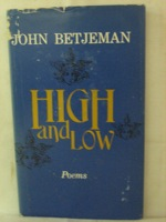 High and Low: Poems, Betjeman, John