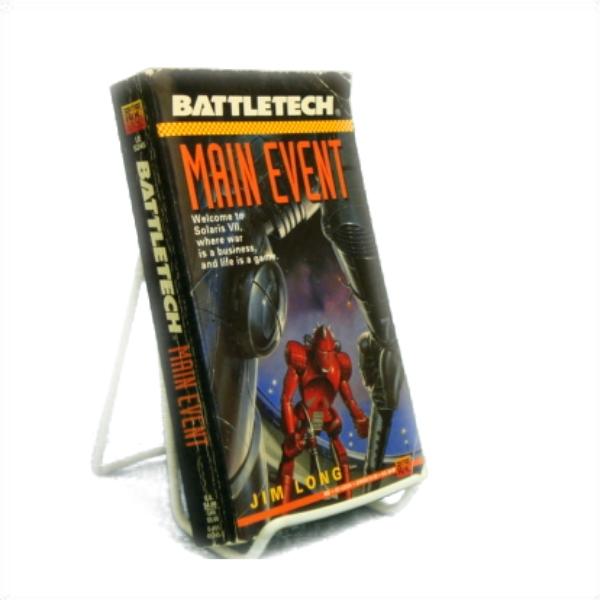 Battletech 10: Main Event, Long, James D.