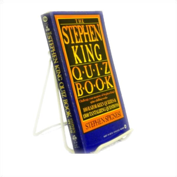 The Stephen King Quiz Book, Spignesi, Stephen