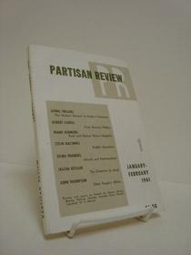 Partisan Review January-February 1961, Trilling, Lionel; Lowell, Robert; Kermode, Frank; Macinnes, Colin; Fraiberg, Selma; Kessler, Jascha; Thompson, John; Koch, Kenneth; Merwin, W.S., et al