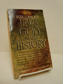 Jews, God and History, Dimont, Max I.