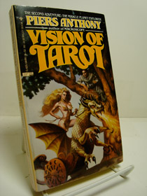Vision of Tarot (Tarot Sequence Book 2), Anthony, Piers