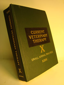 Current Veterinary Therapy X: Small Animal Practice, Kirk, Robert W. (Editor)