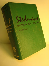 Stedman's Medical Dictionary: A Vocabulary of Medicine and its Allied Sciences, with Pronunciations and Derivations (21st Edition), Asimov, Isaac; Bean, William B., et al