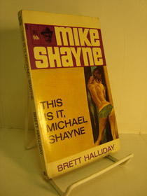 This Is It, Michael Shayne (A Dell Mystery), Halliday, Brett