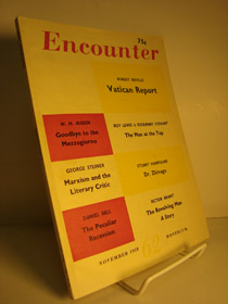 Encounter (November 1958, Vol. XI, No. 5), Spender, Stephen; Kristol, Irving
