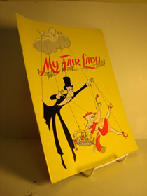 My Fair Lady Play Souvenir Program, Lerner, Alan Jay; Loewe, Frederick