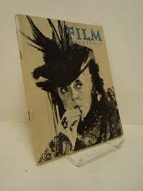 Film Quarterly Vol. XII, No. 3 - Spring 1959, Burgess, Jackson (Editor)