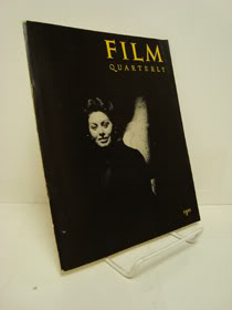 Film Quarterly Vol. XII, No. 2, Winter 1958, Callenbach, Ernest - editor