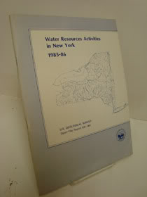 Water-Resources Activities in New York - 1985-86 (United States Geological Survey, Open-File Report 86-146), Finch, Anne J. & Durocher, Suzanne M.