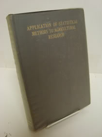 Application of Statistical Methods to Agricultural Research, Love, Harry H.