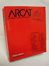 ARCAT The Product Directory for Architects 2009 Edition, ARCAT