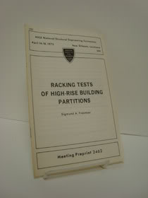 Racking Tests of High-Rise Building Partitions, Freeman, Sigmund A.