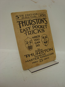 Thurston's Easy Pocket Tricks: The A-B-C of Magic (Book 5 in Series), Thurston, Howard