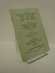 Public Auction Sale 1965, Swann Galleries