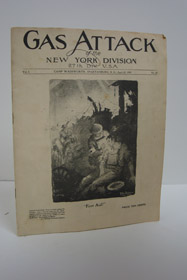 Gas Attack of the New York Division, 27th Div., U.S.A., Camp Wadsworth, Spartanburg, S.C., April 13, 1918, Vol. 1, No. 21