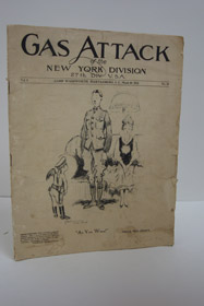 Gas Attack of the New York Division, 27th Div., U.S.A., Camp Wadsworth, Spartanburg, S.C., March 30, 1918, Vol. 1, No. 19