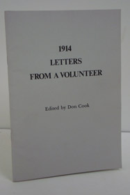 1914 Letters from a Volunteer