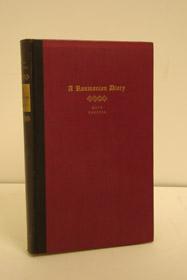 A Roumanian Diary, Carossa, Hans; Scott, Agnes Neill (Translator)
