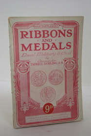 Ribbons and Medals of the Great War [Naval, Military & Civil: War Supplement], Dorling, Taprell