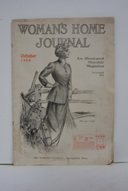 Woman's Home Journal: An Illustrated Monthly Magazine; October 1908