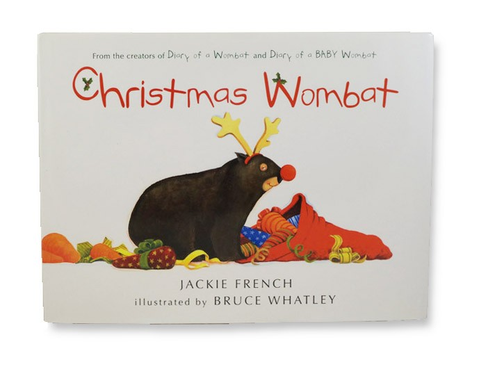 Christmas Wombat, French, Jackie
