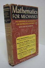 Mathematics for Mechanics, Schaaf, William L.