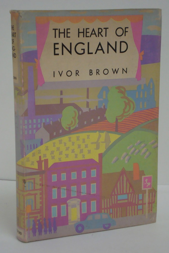 The Heart of England (The British Heritage Series), Brown, Ivor