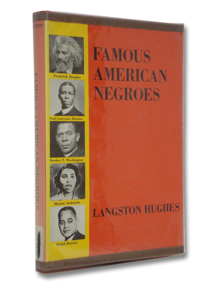 Famous American Negroes (Famous Biographies for Young People), Hughes, Langston