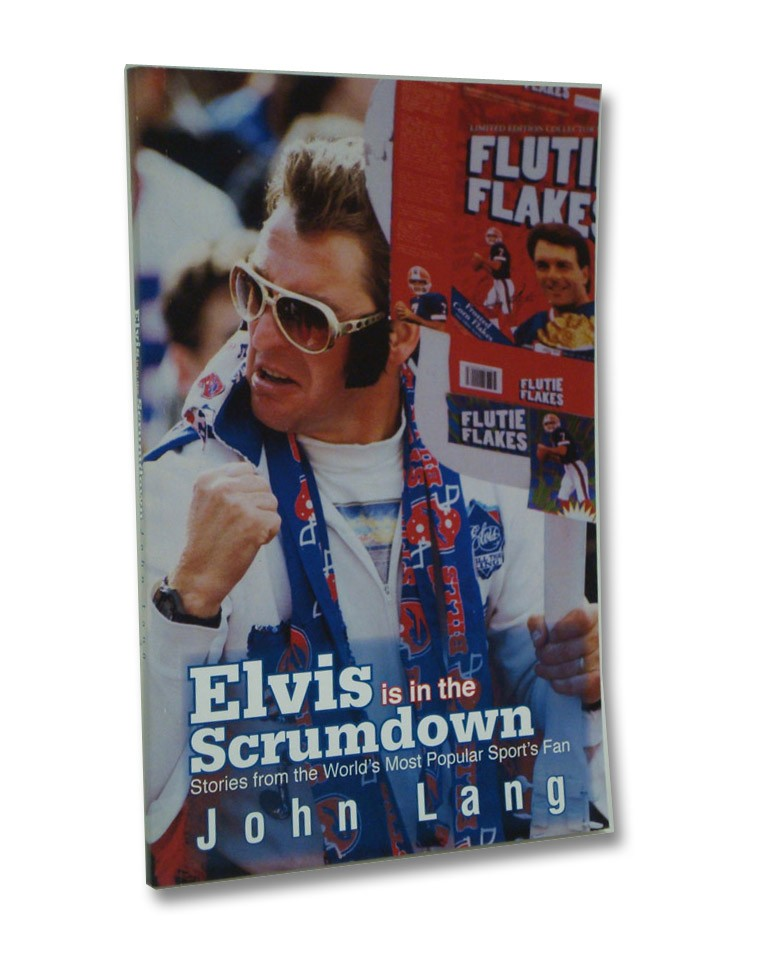 Elvis is in the Scrumdown, Lang, John