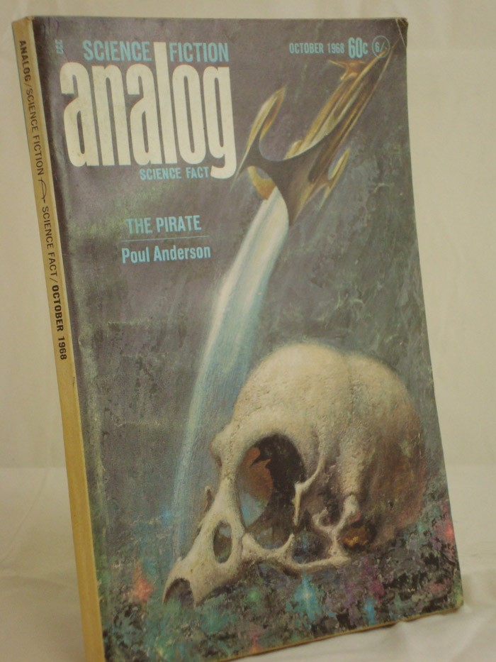 Analog: Science Fiction and Fact - October 1968, Anderson, Poul; Anvil, Christopher; Curtis, Betsy; Perkins, Lawrence A.