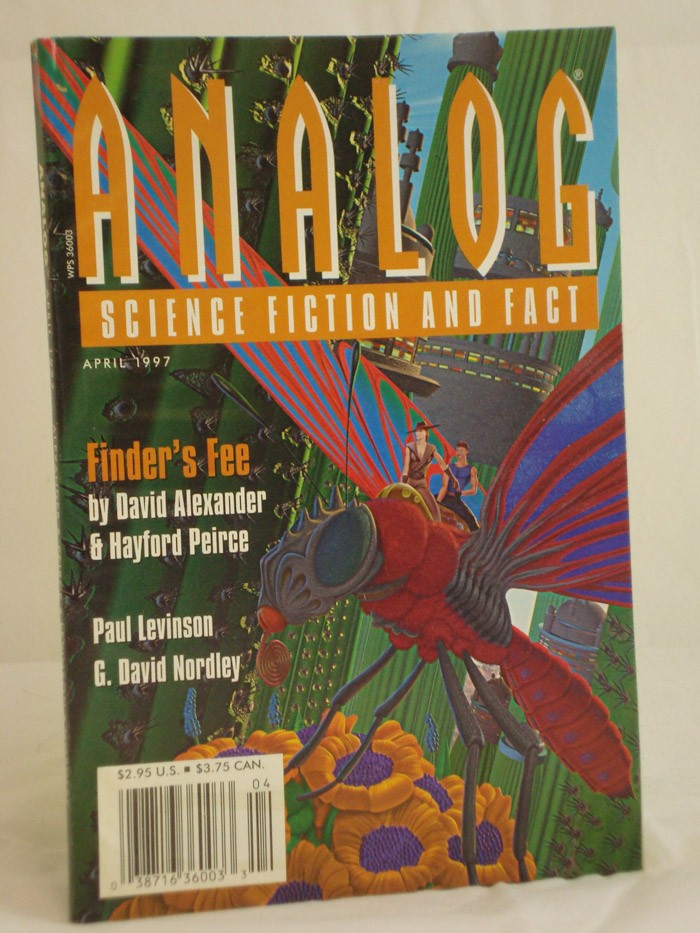 Analog: Science Fiction and Fact -  April 1997, Alexander, David; Pierce, Hayford; Levinson, Paull; Nordley, G. David