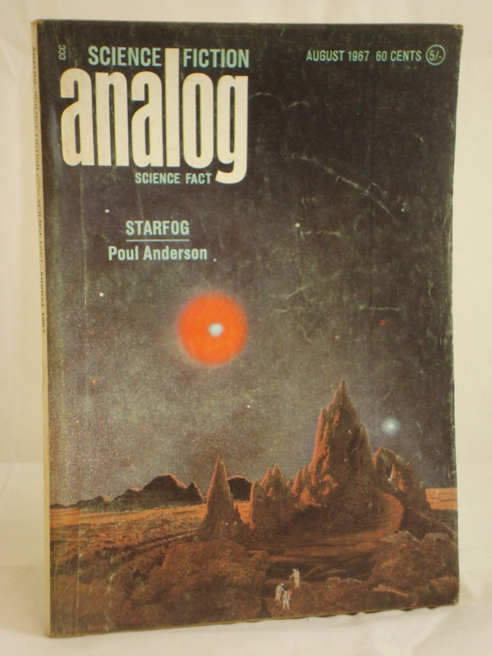 Analog: Science Fiction and Fact - August 1967, Anderson, Poul; Herbert, Frank; Anvil, Christopher; Richmond, Walt; Richmond, Leigh; Reynolds, Mack; Powers, WIlliam T.