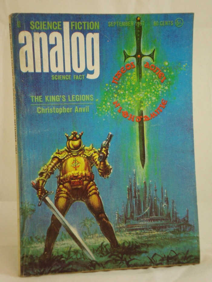 Analog: Science Fiction and Fact - September 1967, Anvil, Christopher; Reynolds, Mack; Wodhams, Jack; von Wald, E.G.; Foray, Verge;