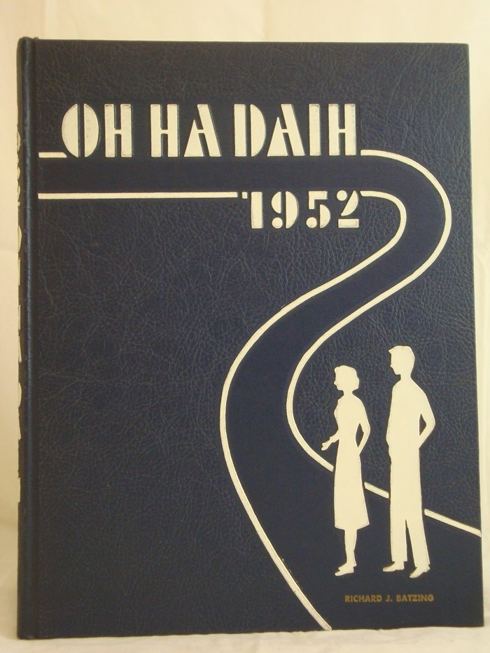 The 1952 Oh-Ha-Daih (State University Teachers College Yearbook, Geneseo, New York)
