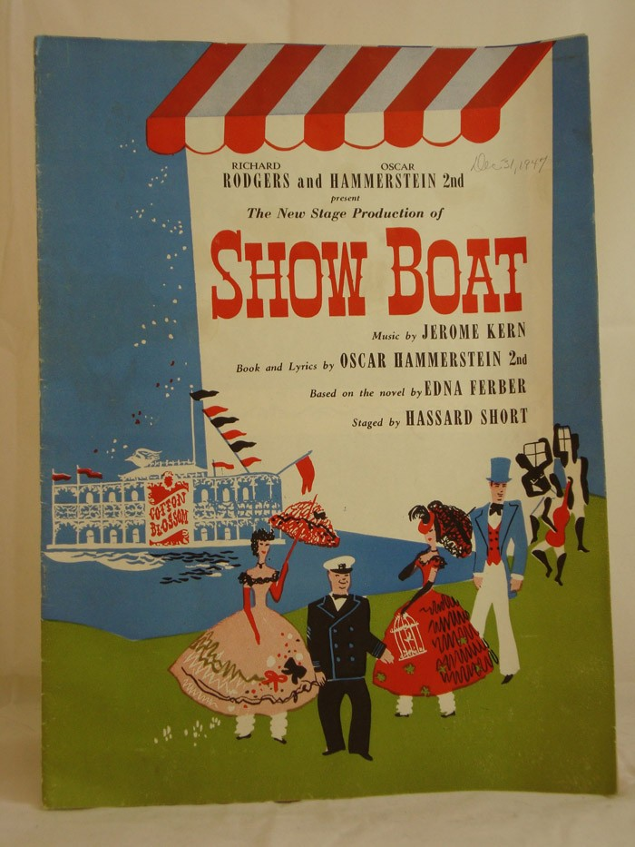 The New Stage Production of Show Boat (Rodgers and Hammerstein Playbill / Souvenir Book), Al Greenstone