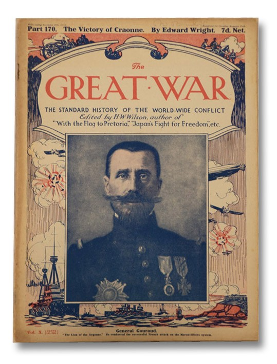 The Great War: The Standard History of the World-Wide Conflict, Vol. X, Part 170 - The Victory of Craonne, Wilson, H.W.; Hammerton, J.A.; Wright, Edward