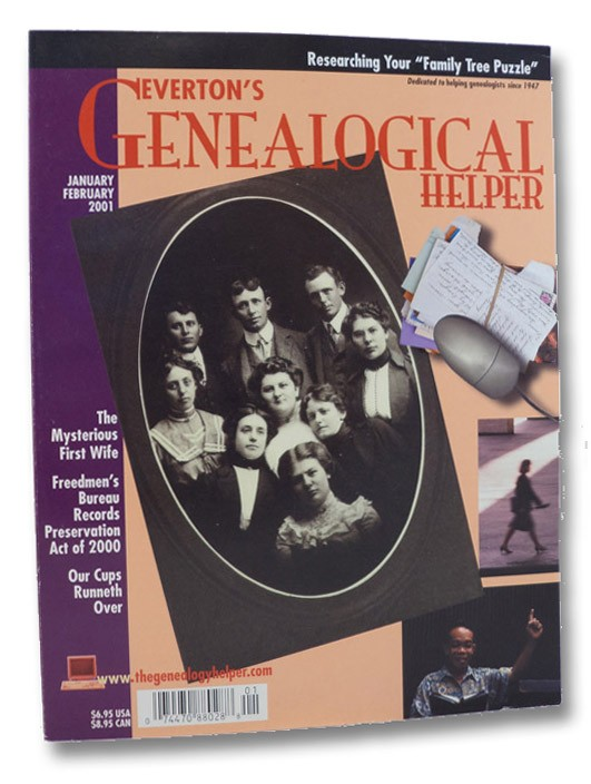 Everton's Genealogical Helper. January/February 2001, Hall, Jay (Editor)