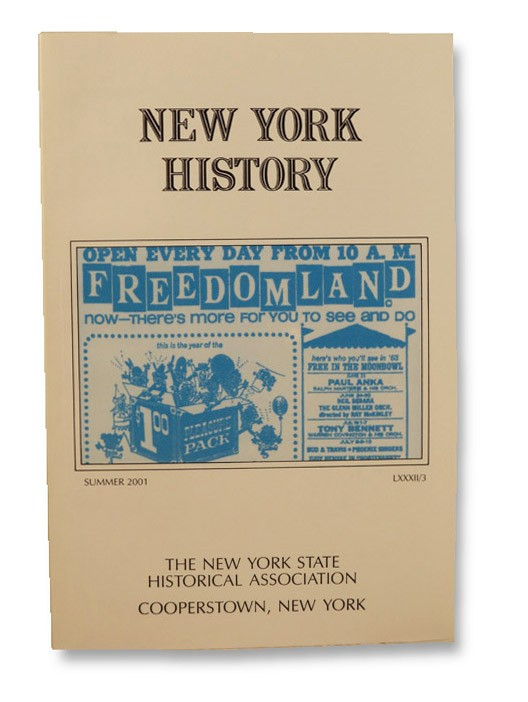 New York History (Vol. LXXXII, No. 3, Summer 2001)