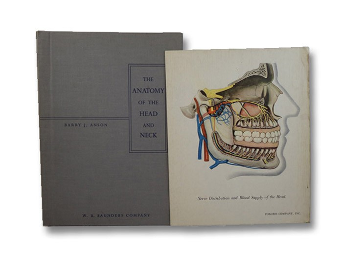 The Anatomy of the Head and Neck, Anson, Barry J.