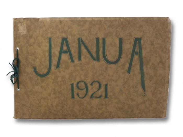 Janua 1921 (East High School Yearbook, Rochester, New York)