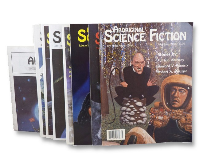 Aboriginal SF Magazine Set (First Ten Issues), Various