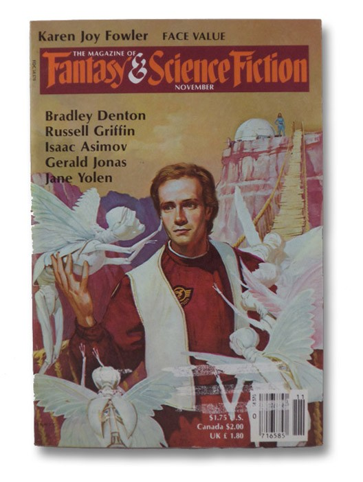 Fantasy & Science Fiction: November 1986