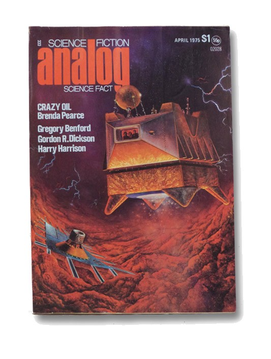 Analog Science Fiction: April 1975, Analog SF