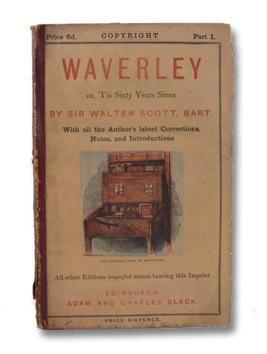a literary analysis of waverley by walter scott Walter scott was born in edinburgh, scotland, august 15, 1771 his father was a farmer and his mother, anne rutherford, was the daughter of dr john rutherford.