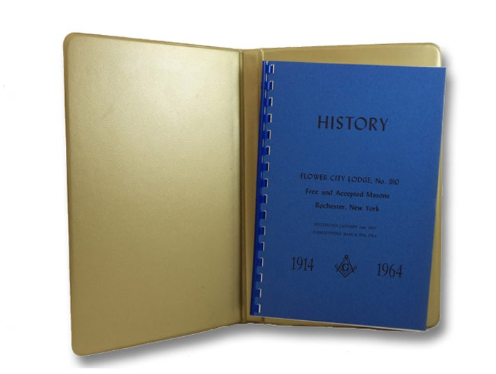 The History of Flower City Lodge No. 910: Free and Accepted Masons of the State of New York, 1914-1964, Sarachan, Herman A.