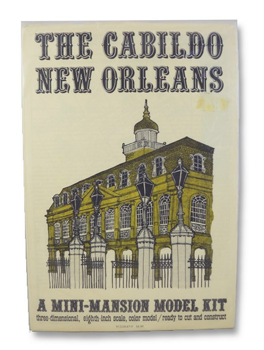 The Cabildo, New Orleans - A Mini-Mansion Model Kit: Three-Dimensional, 16th-Inch Scale, Color Model, Ready to Cut and Construct, Killeen, Roy & Jacqueline