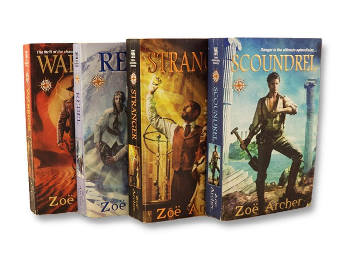 Blades of the Rose Series: Warrior; Stranger; Rebel; Scoundrel