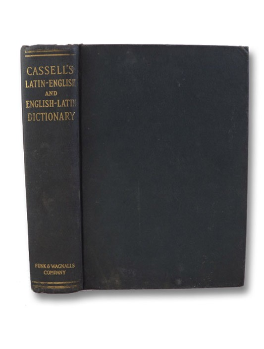 Cassell's Latin Dictionary: Latin-English & English-Latin, Marchant, J.R.V. & Charles, Joseph F. - Revised