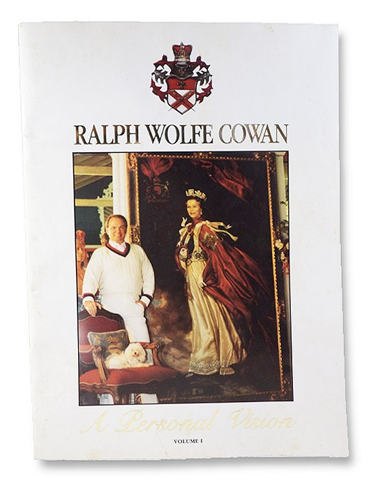 A Personal Vision Volume I: Portrait Painting - 'The Noblest Art', Cowan, Ralph Wolfe